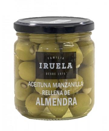 Aceitunas rellenas de almendra Iruela