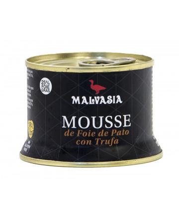 Mousse de foie de pato Malvasia